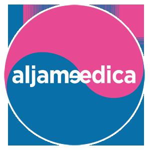 Aljameedica - logo stopka